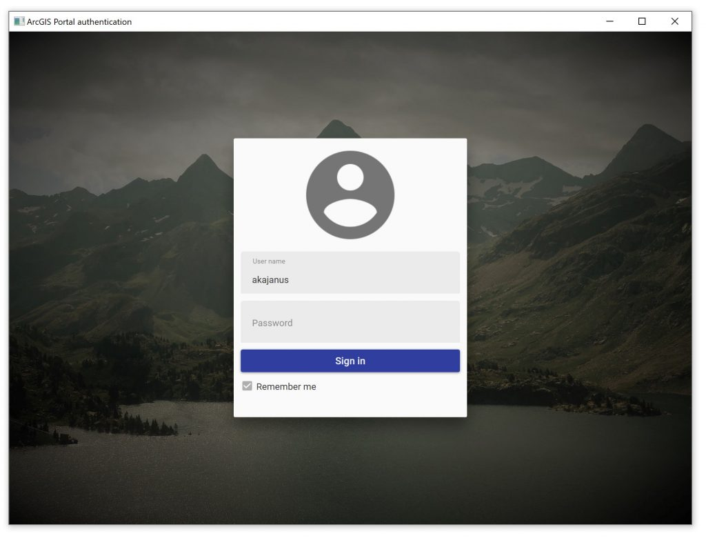 Using token-based authentication with ArcGIS Runtime